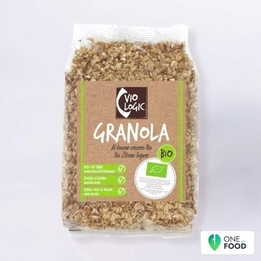 Biological Crunchy Cereals With Lemon And Ginger 1 X 375 G